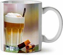 Kaffee Bild Foto Essen Waffel Dessert WeißTee KaffeKeramik Becher 11 | Wellcoda