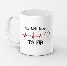 Kaffee-Haferl 'Es' mit nicht Nizza zur