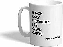 Kaffee-Haferl Berühmtes Zitat liefert jeden Tag