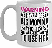 Kaffee-Haferl Für große Mama-Warnung Wir haben