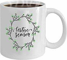 Kaffee-Haferl Für Tee Tasse Moderne Schrift