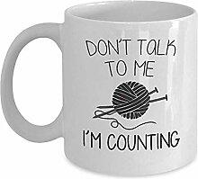 Kaffee-Haferl Sprechen Sie nicht mit mir m