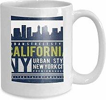 Kaffee-Haferl Tee Cupdesign Skyline Uni