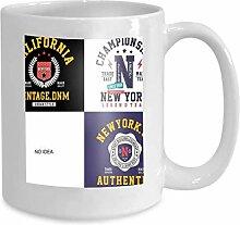 Kaffee-Haferl Tee Cuppatch Sammlung Design