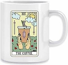 KAFFEE LESEN - Kaffee Kaffeebecher Becher Tassen
