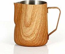 Kaffee Milchkanne 300 / 600ml Graining Edelstahl