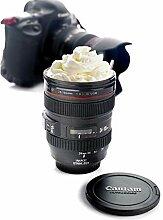 Kaffee-Objektiv Emulation Kamera-Becher