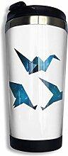 Kaffee Reisebecher Kran Origami Flasche Auto