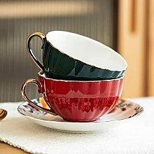 Kaffee Tasse Geschenk 2Pc Keramik Kaffeetasse Set