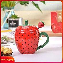 Kaffee Tasse Geschenk 3D Kawaii Becher Mit Deckel