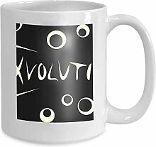 Kaffee Tee Becher Tasse Evolution Charakter 110z