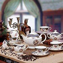 Kaffee-Tee-Set Europäisches Porzellan