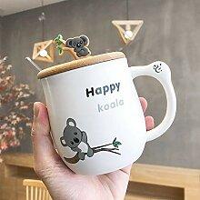 Kaffee Teetassen Frühstücksmilchbecher