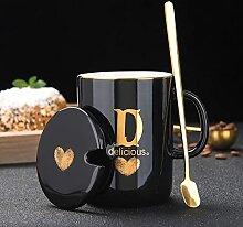 Kaffee Teetassen Frühstücksmilchbecher Nachname