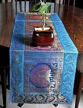 Kaffee tischläufer modern Türkis