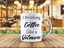 Kaffee trinken wie eine Gilmore-Gilmore-Tasse