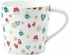 Kaffee- und Teetassen aus dicker Keramik,