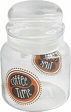 Kaffee Vorratsdose, Glas Aufbewahrung, Vorratsglas, 635 ml Glas Kaffee-Glas, Kaffee-Aufbewahrung, Aufbewahrungsglas, Bonboniere