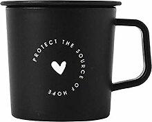 Kaffee Weinglas Becher Chic Plastikbecher Mit