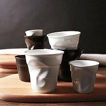 Kaffee Weinglas Becher Keramik Brief Porzellan