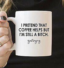 Kaffeebecher 11oz Coffee Mugs for Women, Funny Mug