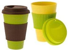 Kaffeebecher  2 tlg. 'Coffee to go' | Bio-