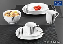 Kaffeebecher 300ml 6er Set Nero - Flirt by R&B