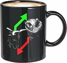 Kaffeebecher, 425 ml, Schwarz