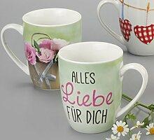 """Kaffeebecher """"Alles Liebe"""" BECHER ALLES LIEBE 950579"""