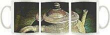 KaffeebecherAlte Teekanne aus Keramik