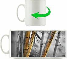 Kaffeebecher Alter rustikaler Bambus East Urban