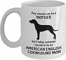 Kaffeebecher American English Coonhound