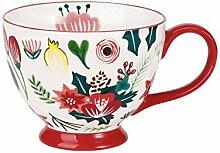 Kaffeebecher Amerikanische gemalte Keramik-Becher