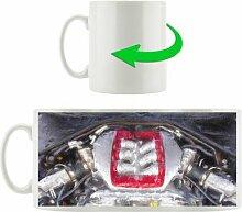 Kaffeebecher Audi A4 Motor