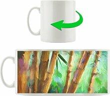 Kaffeebecher Bambus im Wald