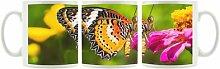 KaffeebecherBunter Schmetterling
