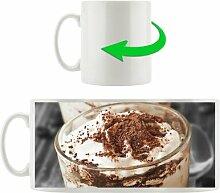 Kaffeebecher Cappuccino mit Sahne und