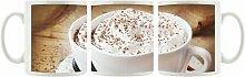 KaffeebecherCappuccino mit Sahne