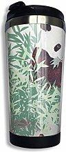 Kaffeebecher Cartoons Bambus Panda Double-Layer