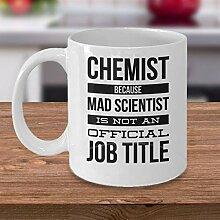 Kaffeebecher Chemistry Geschenkidee Geschenk für