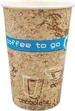 Kaffeebecher Coffee ToGo COFFEE DREAMS 300 ml hoch