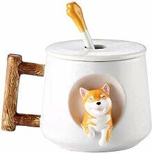 Kaffeebecher Corgi Tee-Becher mit lustigem