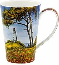 Kaffeebecher Diamant Design: Leuchtturm - 0,25L