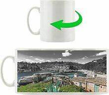 Kaffeebecher Ferienhaus an der spanischen Küste
