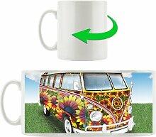 KaffeebecherFlower Power VW Bus