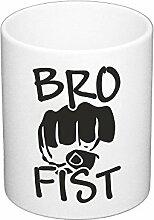 Kaffeebecher Freunde Bro Fist Brüder Check Hi5 NEU