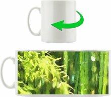 Kaffeebecher Frischer wachsender Bambus