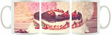 KaffeebecherFrucht-Sahne Torte