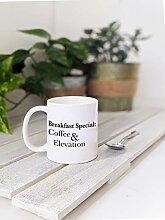 Kaffeebecher für Bergsteiger und Trailrunner