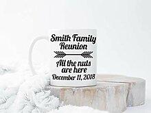 Kaffeebecher für Familientreffen,